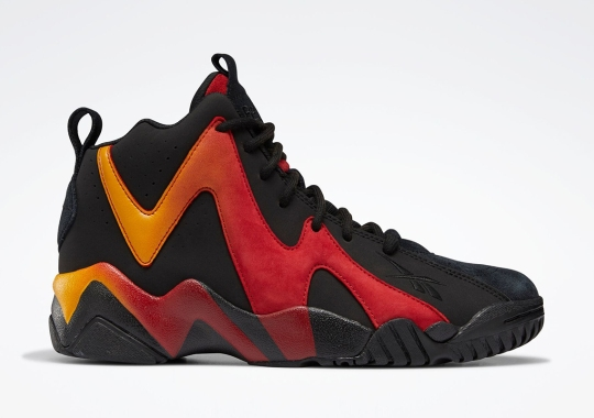 Reebok Kamikaze II Gets A Fiery Gradient Of Flash Red And Semi Solar Gold