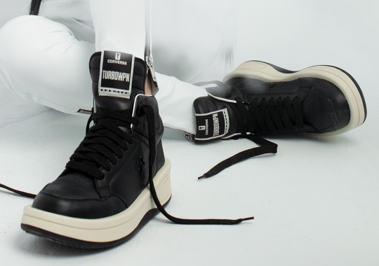 Rick Owens Transforms The Iconic Converse Weapon Into The TURBOWPN