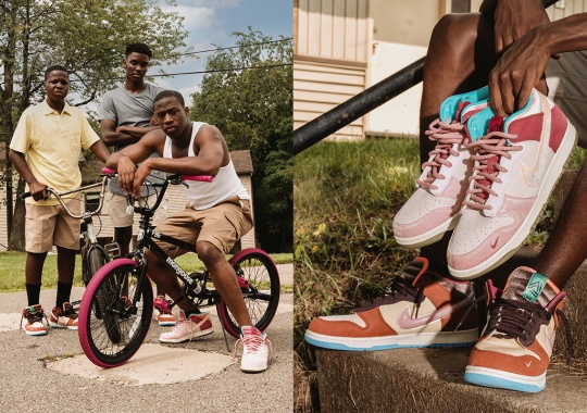 """Social Status Announces Release Dates For Their Nike Dunks With """"Free Lunch"""" Short Film"""