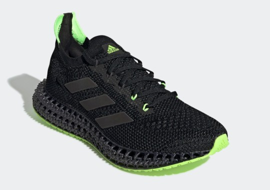 The Neon Green-Accented adidas 4DFWD Is Available Now