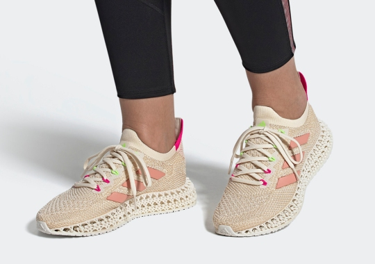 """The adidas 4DFWD Appears In A Women's Exclusive """"Shock Pink"""" Colorway"""