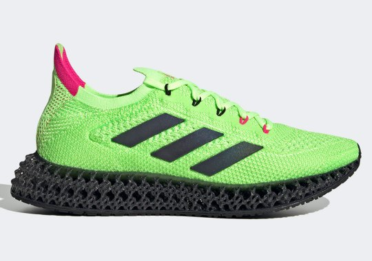 The New adidas 4DFWD Enjoys A Neon Watermelon Colorway