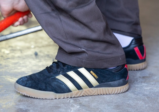 Dennis Busenitz And adidas Skateboarding Celebrate 15th Anniversary Of Partnership With New Indoor Super Shoe