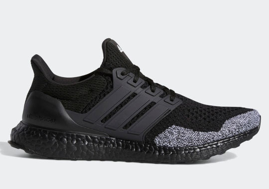 Grey Knits Pop Along This Blacked Out adidas UltraBOOST 1.0 DNA