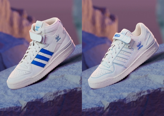 Personalize This adidas Forum Duo With Adhesive Patches