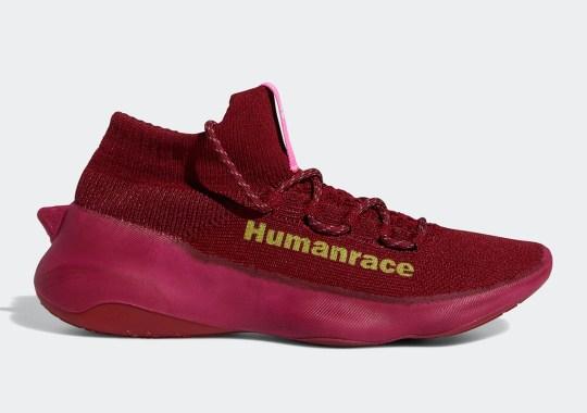 Pharrell's adidas Humanrace Sičhona Appears In Burgundy