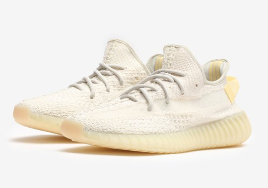 """The adidas Yeezy Boost 350 v2 """"Light"""" Releases Tomorrow"""