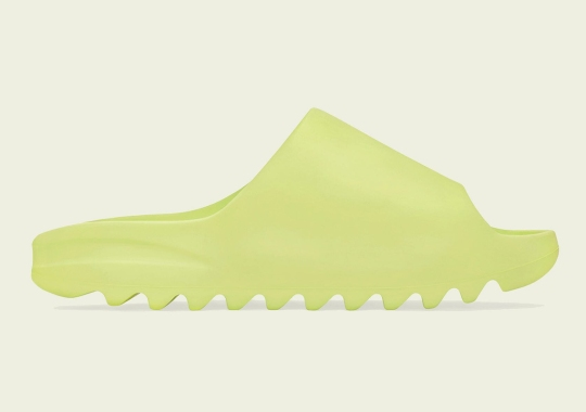 """The adidas YEEZY SLIDE """"Glow Green"""" Is Releasing On September 6th"""