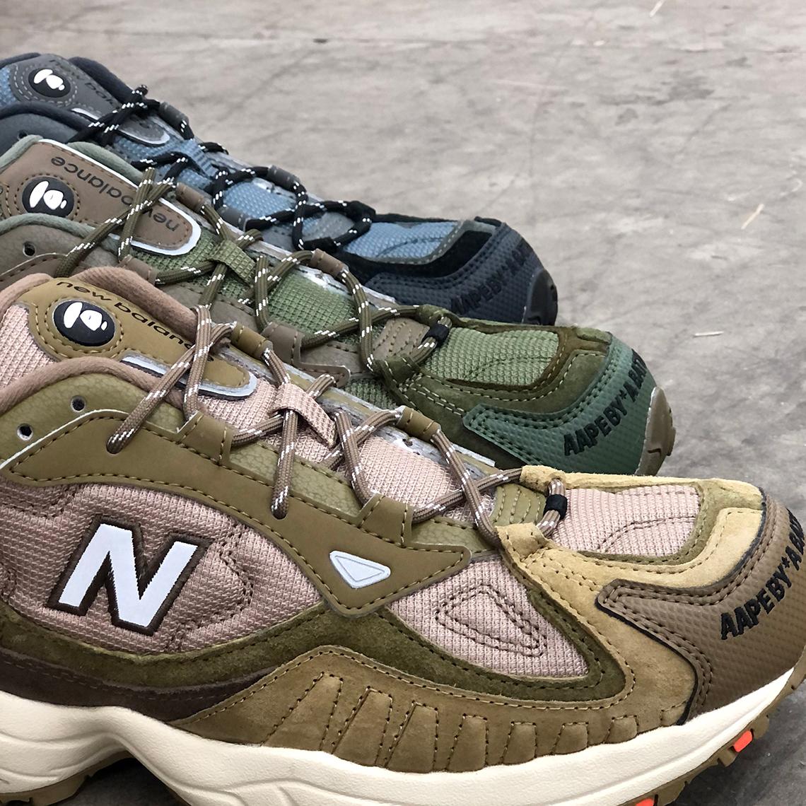 AAPE New Balance 703 Release Date | SneakerNews.com