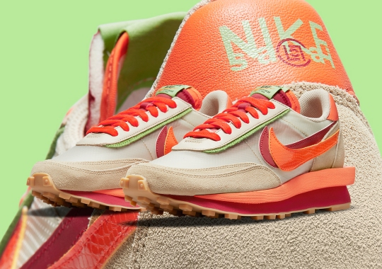 The CLOT x sacai x Nike LDWaffle Releases On September 14th