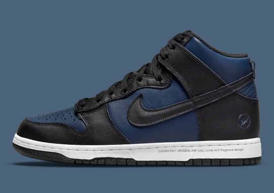 "fragment design x Nike Dunk High ""Tokyo"" Releases On September 5th"