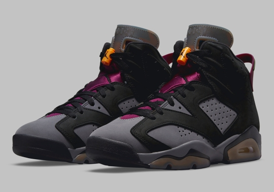 """Official Images Of The Air Jordan 6 """"Bordeaux"""""""