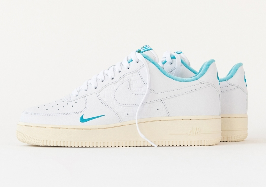 """KITH x Nike Air Force 1 """"Hawaii"""" Release Coinciding With August 20th Grand Opening"""