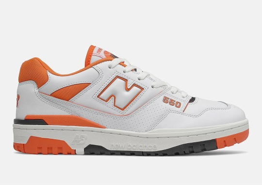 The New Balance 550 Is Getting A Citrus Touch
