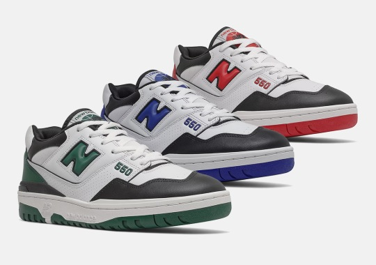 """New Balance 550 """"Shifted Sport"""" Pack Hones In On School Colors For September 1st"""