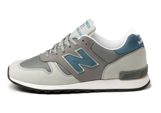 """New Balance Expands Its """"Made In England"""" Line With A Grey And Blue New Balance 670"""