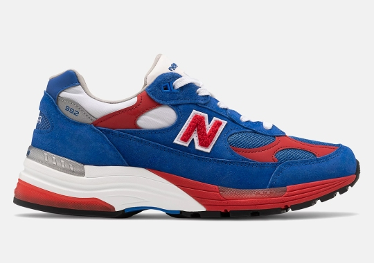 New Balance Keeps It All-American With This Red, White, and Blue 992
