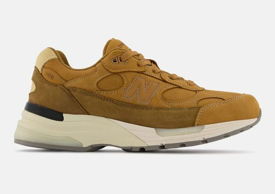 """The New Balance 992 Goes """"Wheat"""" For The Season"""