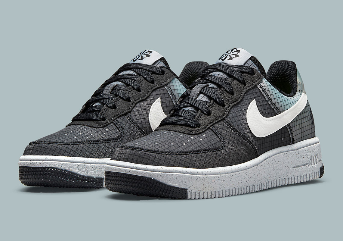Nike Air Force 1 Crater Black Grey DC9326-001 | SneakerNews.com