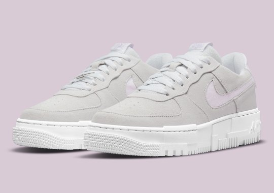 Velvets And Suedes Give The Nike Air Force 1 Pixel A Premium Look