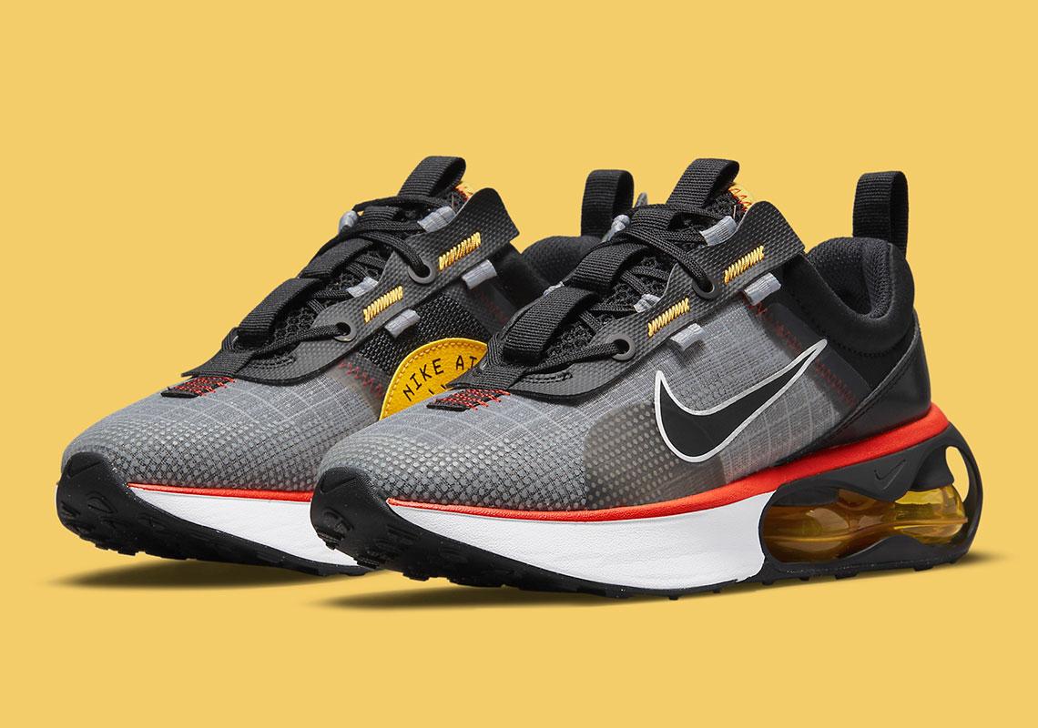 Nike Air Max 2021 Black Orange Gold DA3199-005 | SneakerNews.com