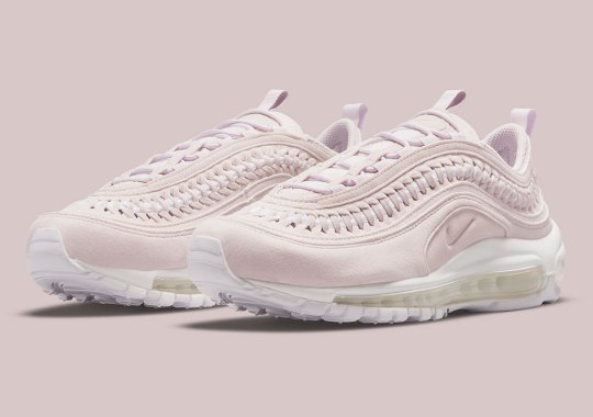 Soft Suedes And Braided Details Dress Up This Elegant Pink Nike Air Max 97 LX