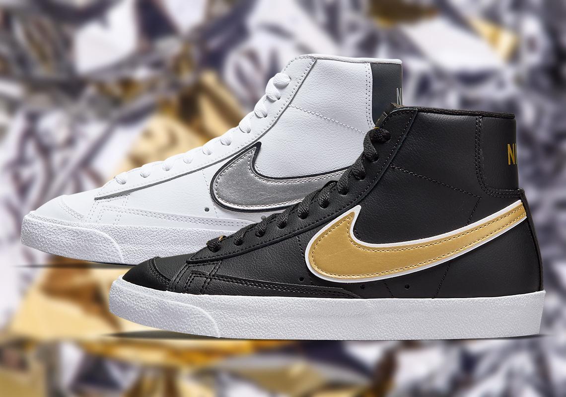 Nike Blazer Mid 77 DH0070-100 DH0070-001 Release Info ...