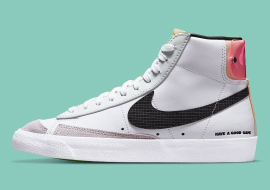 """The Nike Blazer Mid Joins The """"Have A Good Game"""" Collection"""