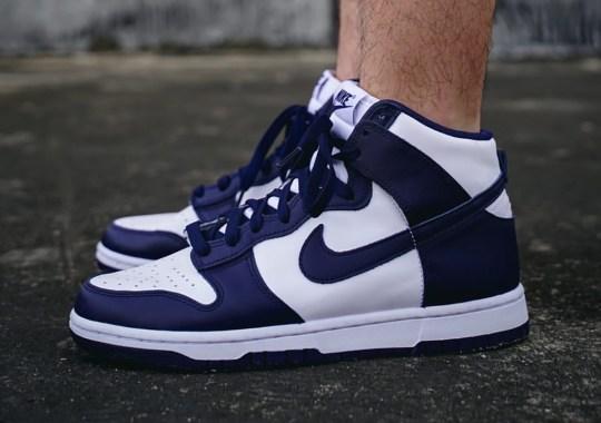 "The Nike Dunk High ""Midnight Navy"" Arrives Soon"