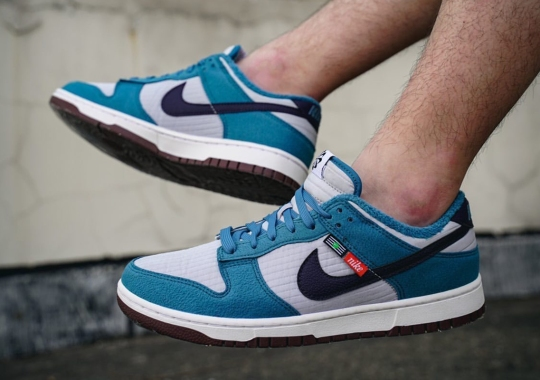 Closer Look At The Nike Dunk Low Toasty In Blue