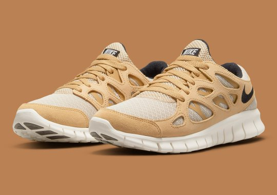 Flax-Colored Overlays Dress This Autumn-Ready Nike Free Run 2