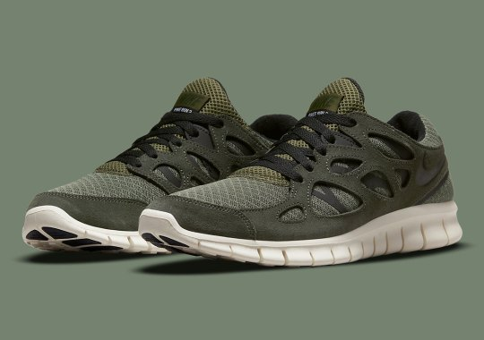 """The Nike Free Run 2 Is Heading Into The Fall With A """"Sequoia"""" Colorway"""