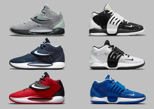 The Nike KD 14 Arrives In A Series Of Team-Based Colorways