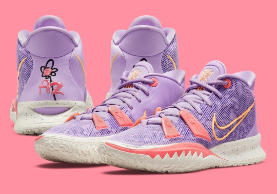 Kyrie Irving's Daughter Azurie Inspired This Playful Nike Kyrie 7