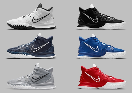 A Half Dozen Nike Kyrie 7 Team Bank Colorways Are Coming Soon