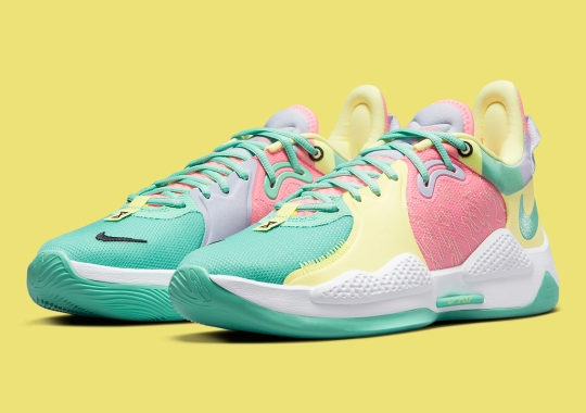 """Full Range Of Pastels Appear On The Nike PG 5 """"Daughters"""""""