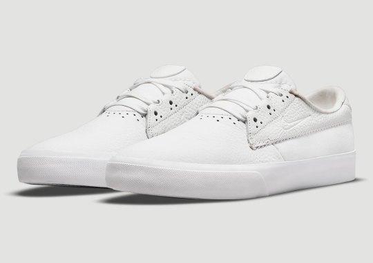 The Nike SB Shane Premium Gets A Classic Triple White Leather