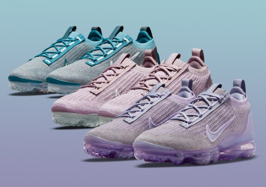 """Nike Ostensibly Recalls 2017's """"Day To Night"""" Pack With The Vapormax Flyknit 2021"""