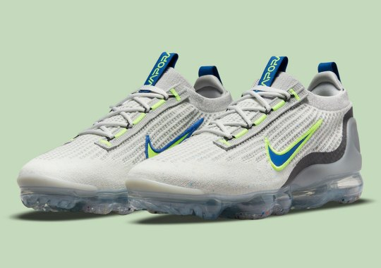 The Nike Vapormax Flyknit 2021 Returns With Neon Swooshes