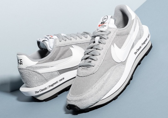 "Where To Buy The sacai x Fragment x Nike LDWaffle ""Grey"""