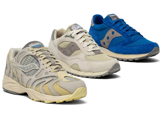 "Saucony Debuts The Three-Shoe ""Megabyte"" Pack"