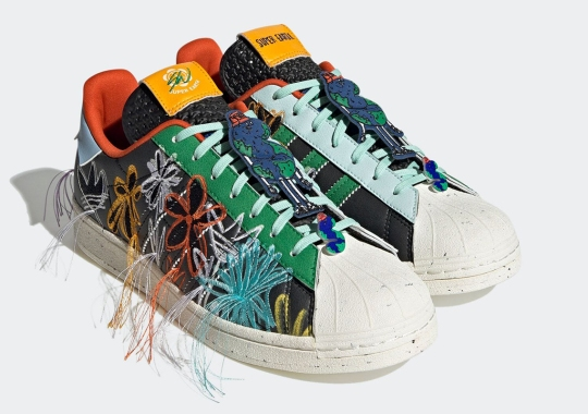 """Sean Wotherspoon Confirms Release Of His adidas Superstar SUPEREARTH In """"Core Black"""""""