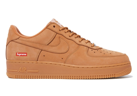 """Supreme Confirms The Nike Air Force 1 Low """"Flax"""" And More For FW21 Collection"""