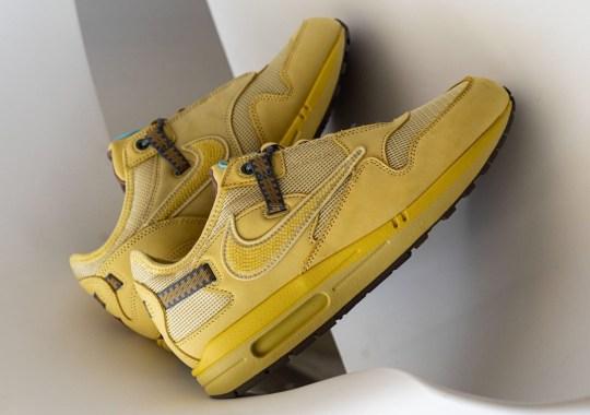 "First Look At The Travis Scott x Nike Air Max 1 ""Wheat"""