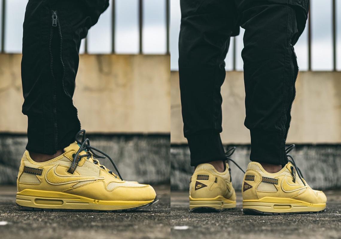 Travis Scott Nike Air Max 1 Wheat DO9392-700 Release Date ...