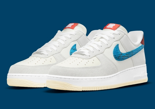 """The Undefeated x Nike Air Force 1 """"5 On It"""" Hits SNKRS On August 20th"""