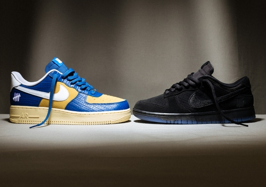 """Where To Buy The UNDEFEATED x Nike Dunk vs. AF-1 """"5 On It"""" Drop 2"""