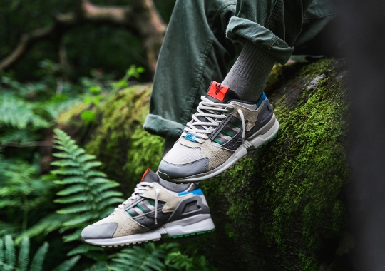 """43einhalb Celebrates 10th Anniversary With Exclusive adidas ZX 10000 """"Joint Path"""""""