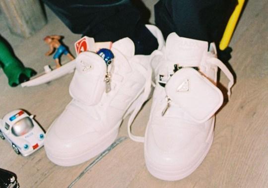 A$AP Rocky Previews A Prada x adidas Forum Low