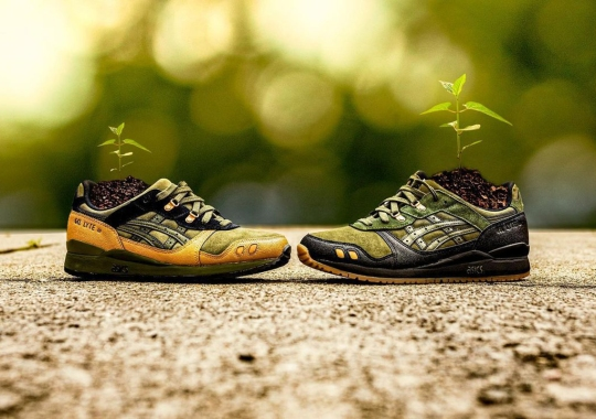 """ASICS Ushers In The """"Olive Canvas"""" Pack With The GEL-LYTE III"""